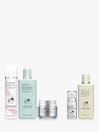 Liz Earle Cleanse & Polish™ Rose & Lavender,  Instant Boost™ Skin Tonic and Moisturiser Neroli Bundle with Gift