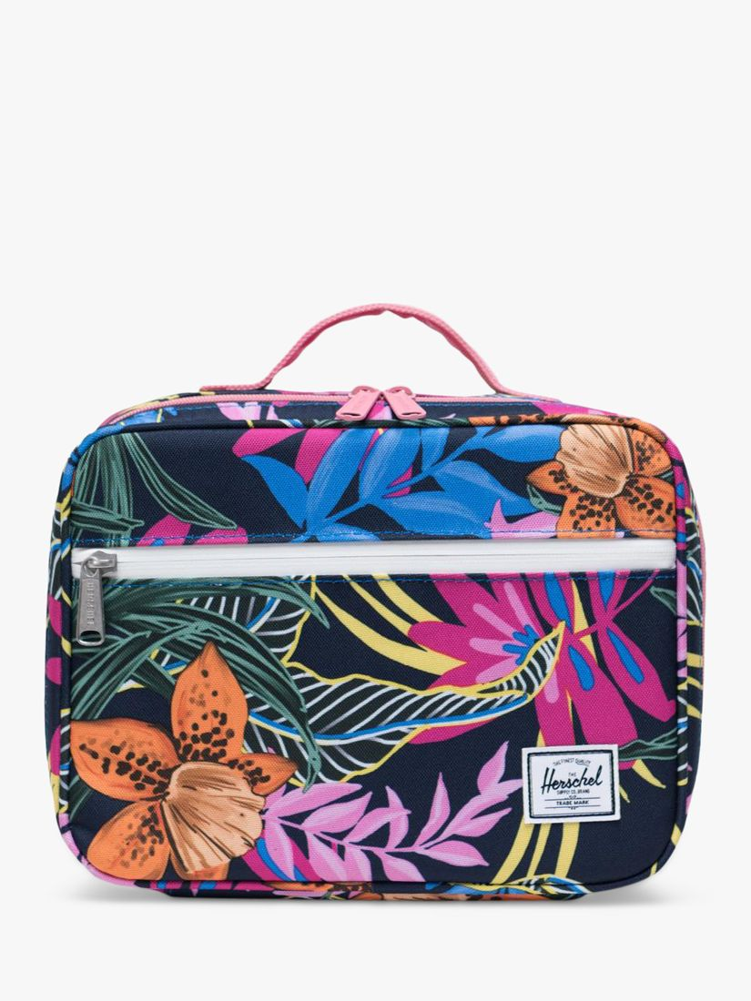 Herschel Supply Co. Herschel Supply Co. Children's Pop Quiz Jungle Floral Lunch Box, Black