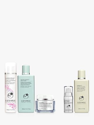 Liz Earle Cleanse & Polish™ Rose & Lavender,  Instant Boost™ Skin Tonic and Moisturiser Bundle with Gift