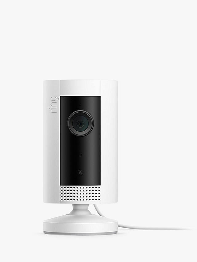 Buy Ring Indoor Cam Smart Security Camera with Built-in Wi-Fi, White Online at johnlewis.com