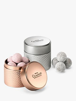Hotel Chocolat  Pink & classic Champagne Truffle Tins, 200g
