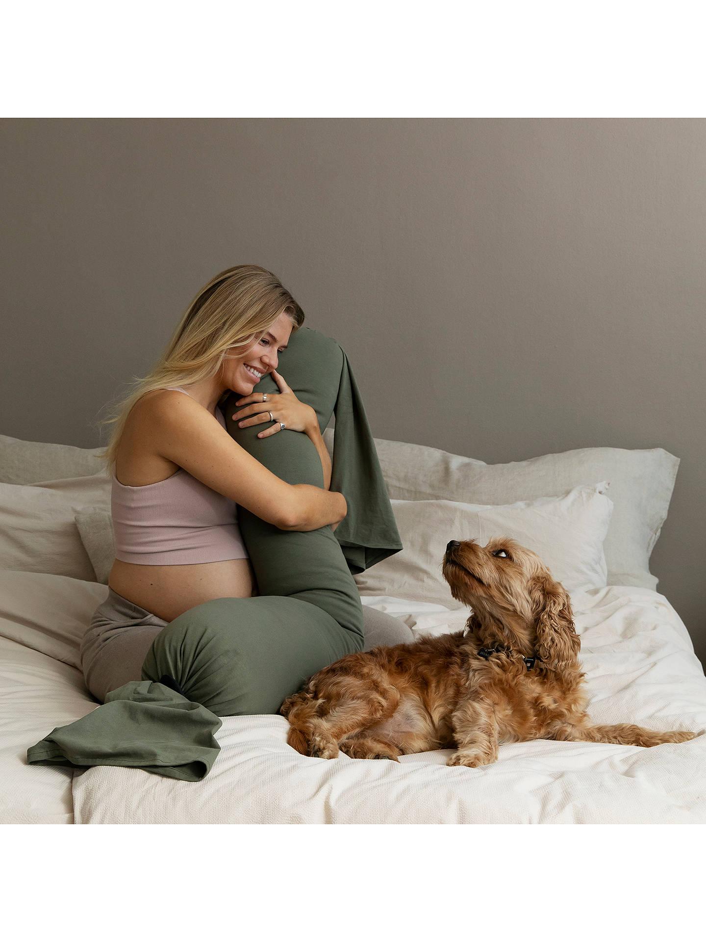bbhugme Pregnancy Pillow, Green at John