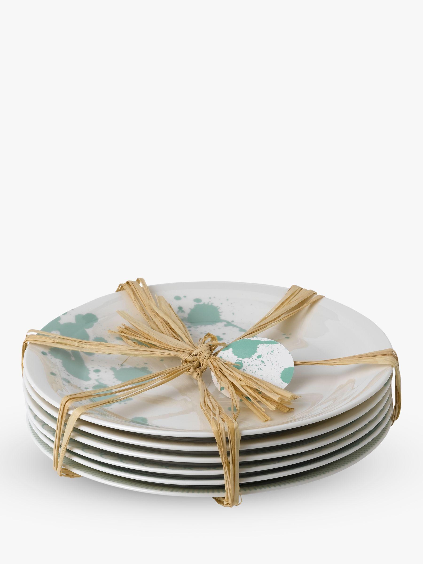 Royal Doulton Royal Doulton Pacific Porcelain Dinner Plates, Set of 6, 28cm, Mint