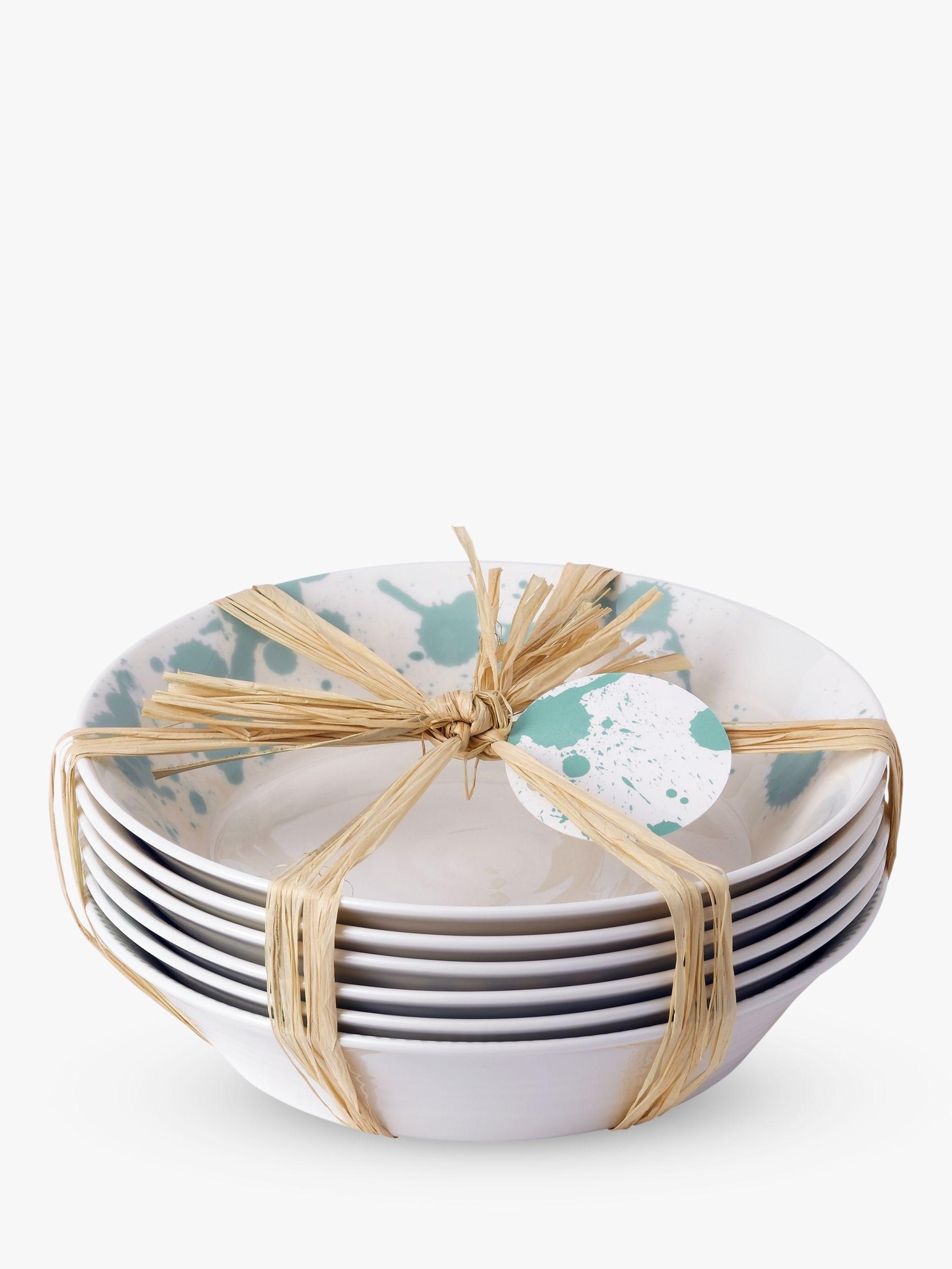 Royal Doulton Royal Doulton Pacific Porcelain Pasta Bowls, Set of 6, 23cm, Mint