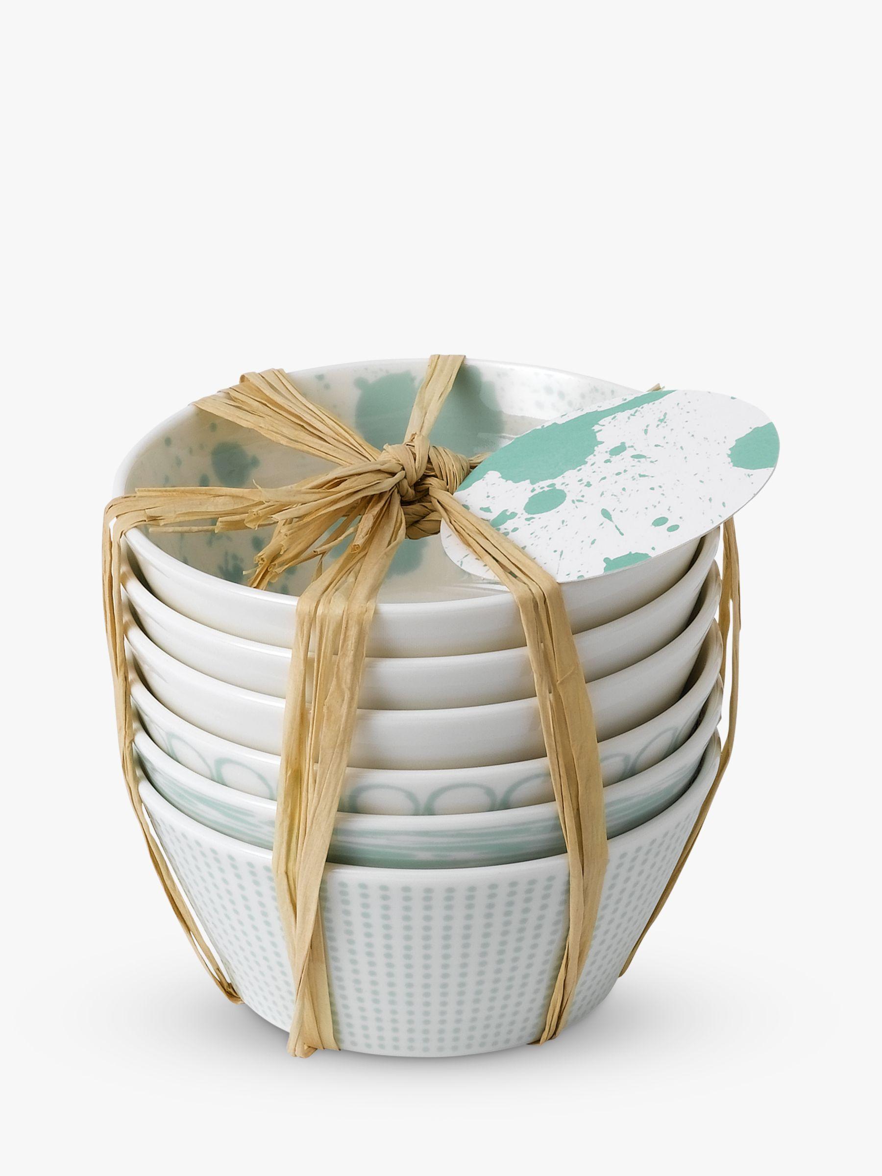 Royal Doulton Royal Doulton Pacific Porcelain Tapas Bowls, Set of 6, 11cm, Mint