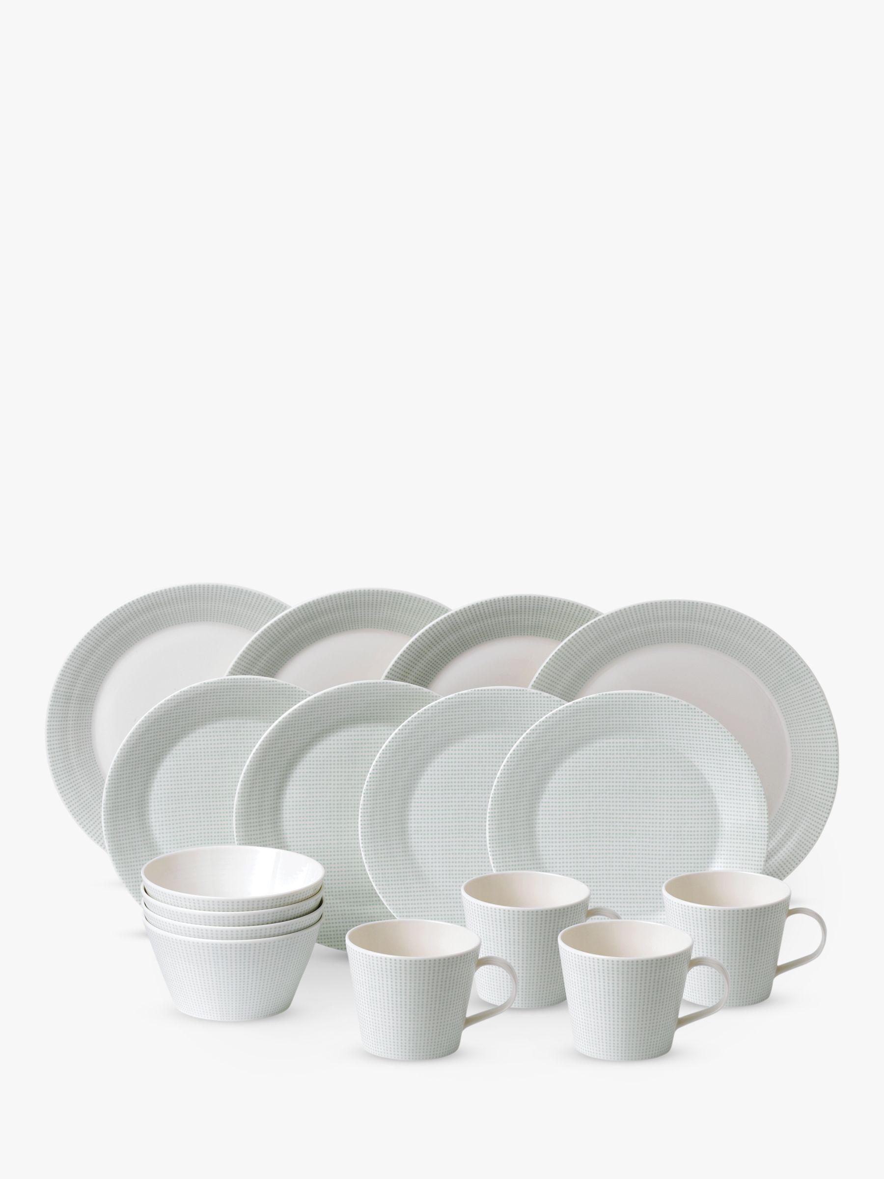 Royal Doulton Royal Doulton Pacific Porcelain China Dinnerware Set, 16 Piece, Mint