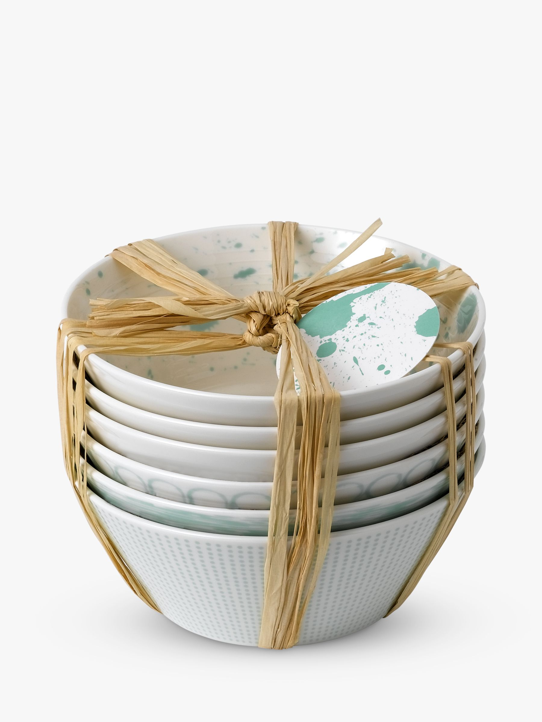 Royal Doulton Royal Doulton Pacific Porcelain Bowls, Set of 6, 16cm