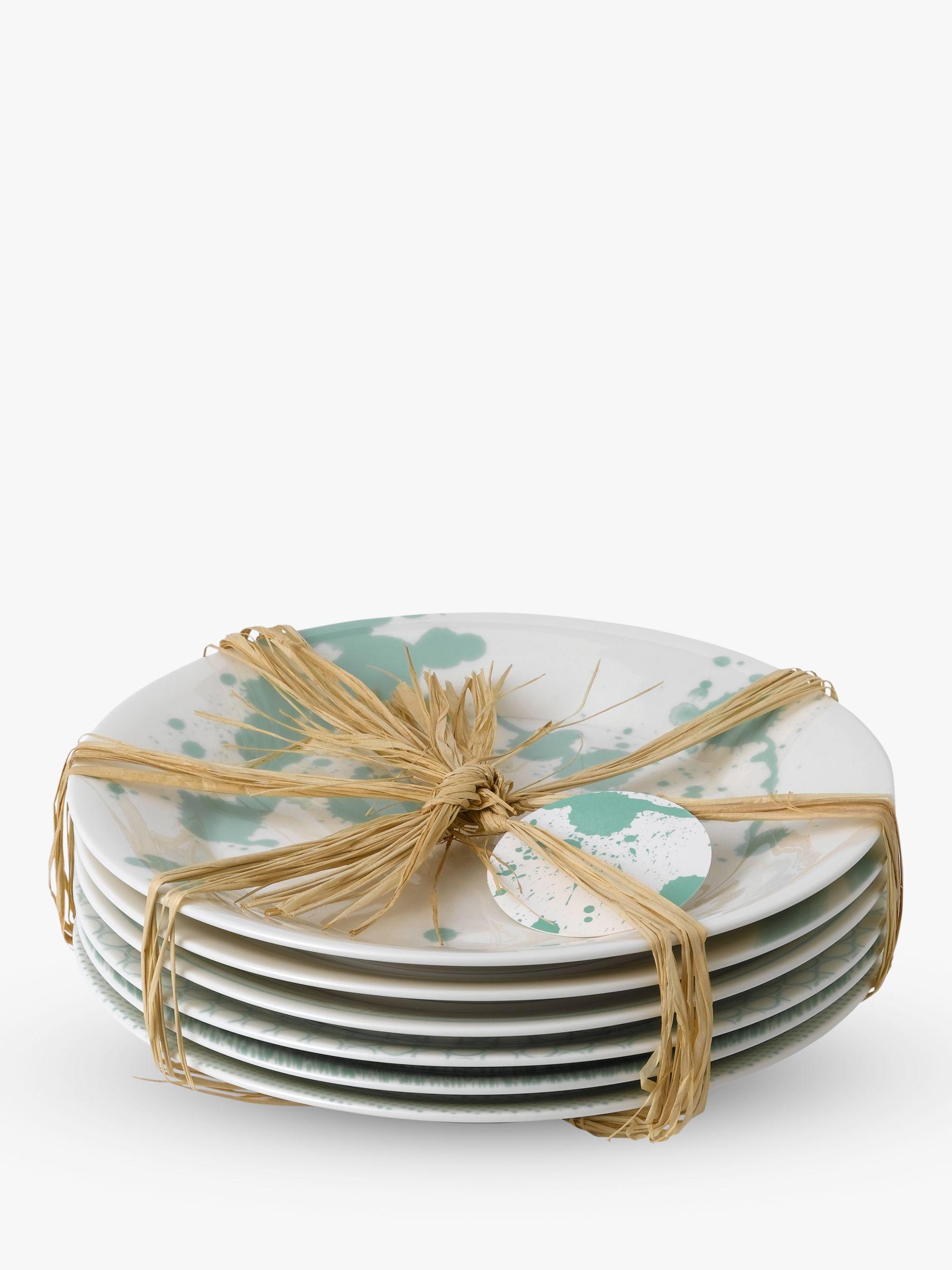 Royal Doulton Royal Doulton Pacific Porcelain Tapas Plates, Set of 6, 16cm, Mint