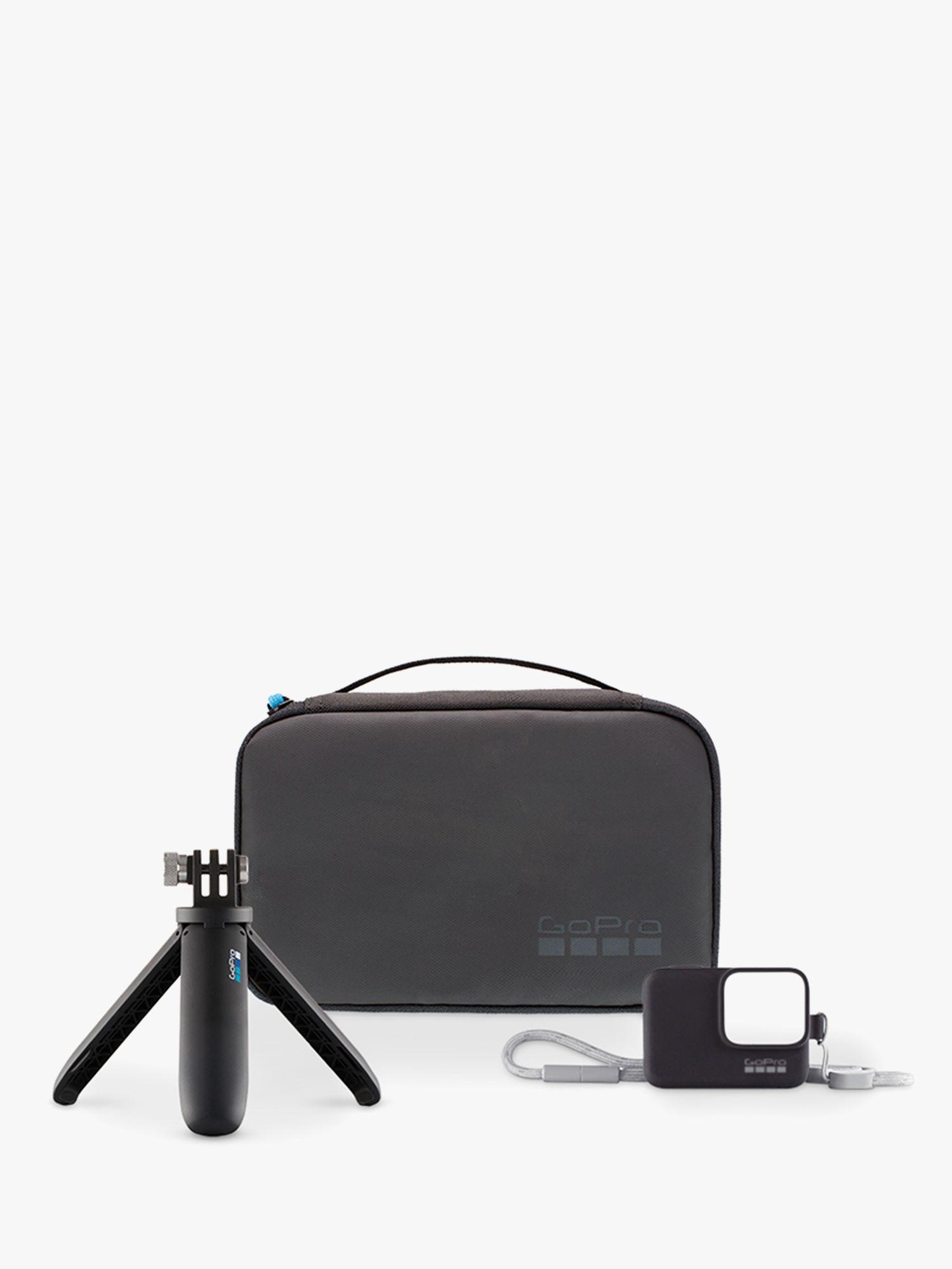 GoPro Travel Kit, GoPro Shorty Mini-Extending Tripod, Lanyard and Case Bundle