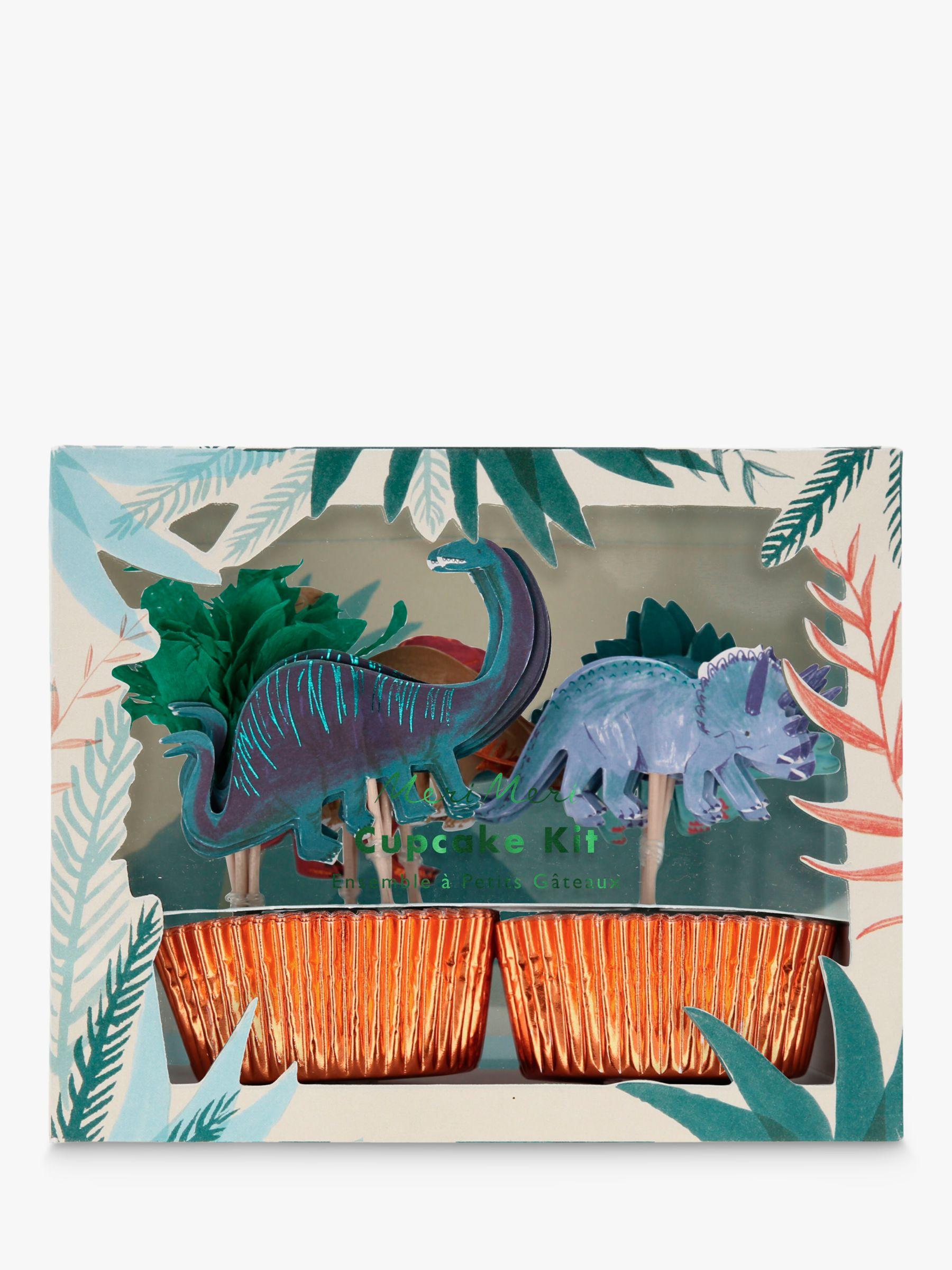 Meri Meri Meri Meri Dino Cupcake Kit, Set of 24