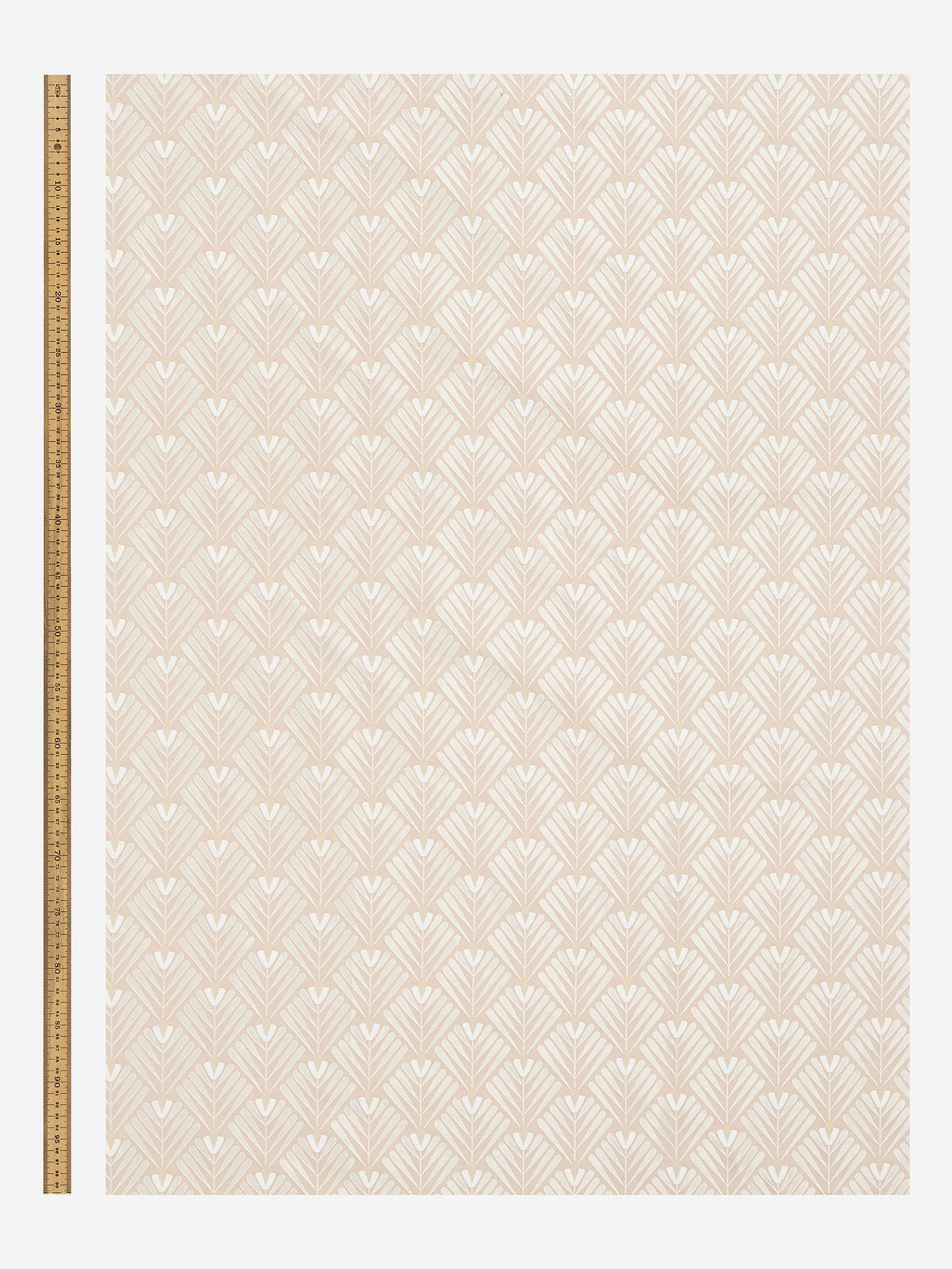 Buy John Lewis & Partners Clifton Furnishing Fabric, Pink Online at johnlewis.com