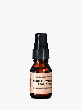 Lixirskin Night Switch BHA/AHA 10% Serum, 15ml