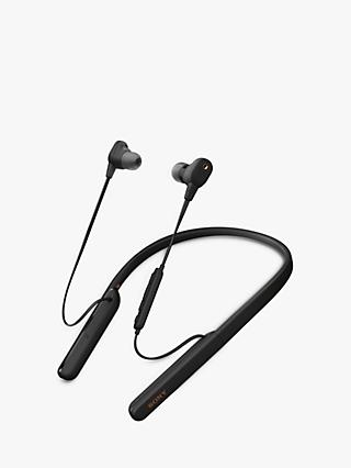 Sony WI-1000XM2 Noise Cancelling Wireless Bluetooth NFC High Resolution Audio In-Ear Headphones with Mic/Remote & Neckband