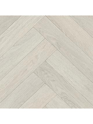 John Lewis & Partners Wood Elite Chevron Vinyl Flooring