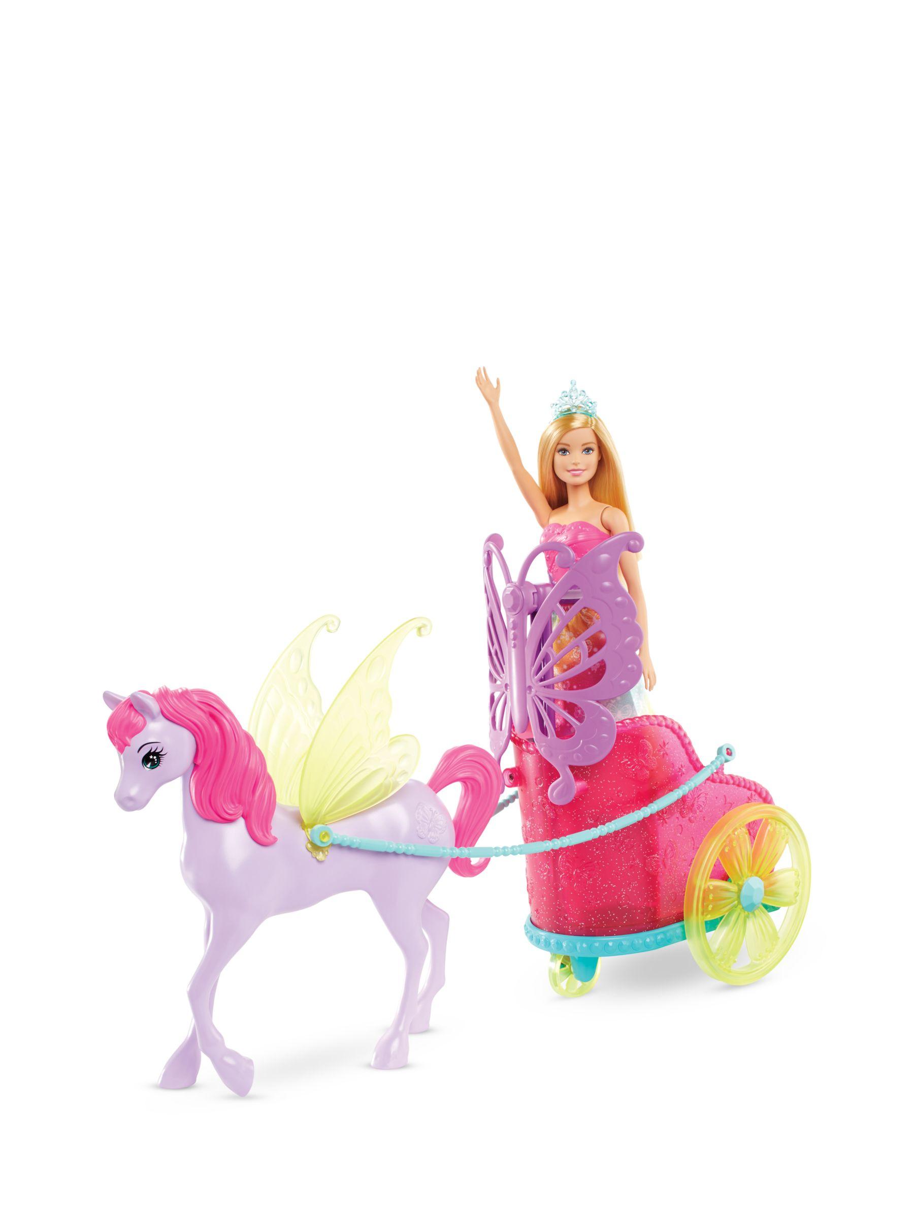 Barbie Barbie Dreamtopia Princess, Pegasus & Chariot