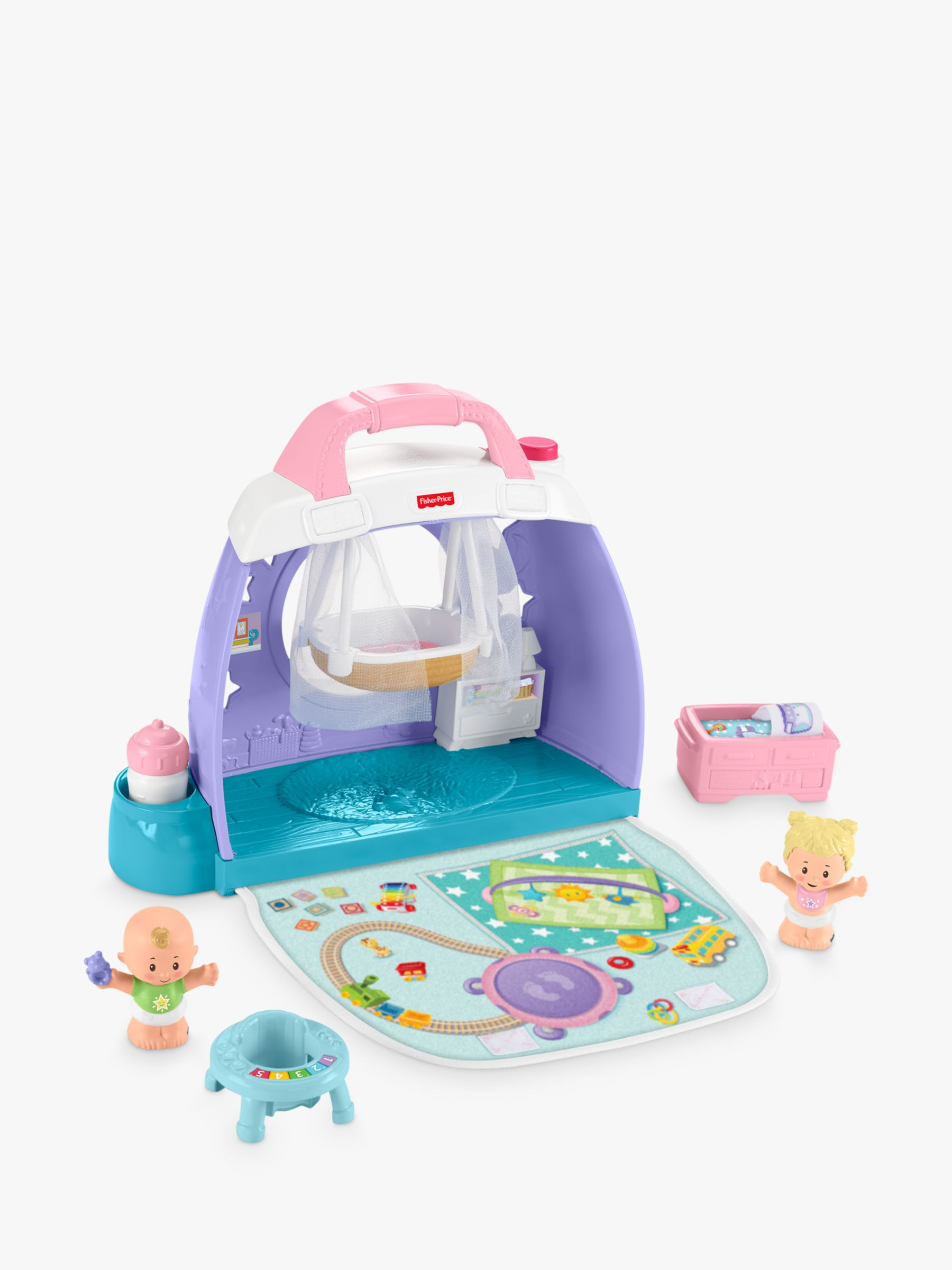 Fisher-Price Fisher-Price Little People Cuddle & Play Nursery Playset