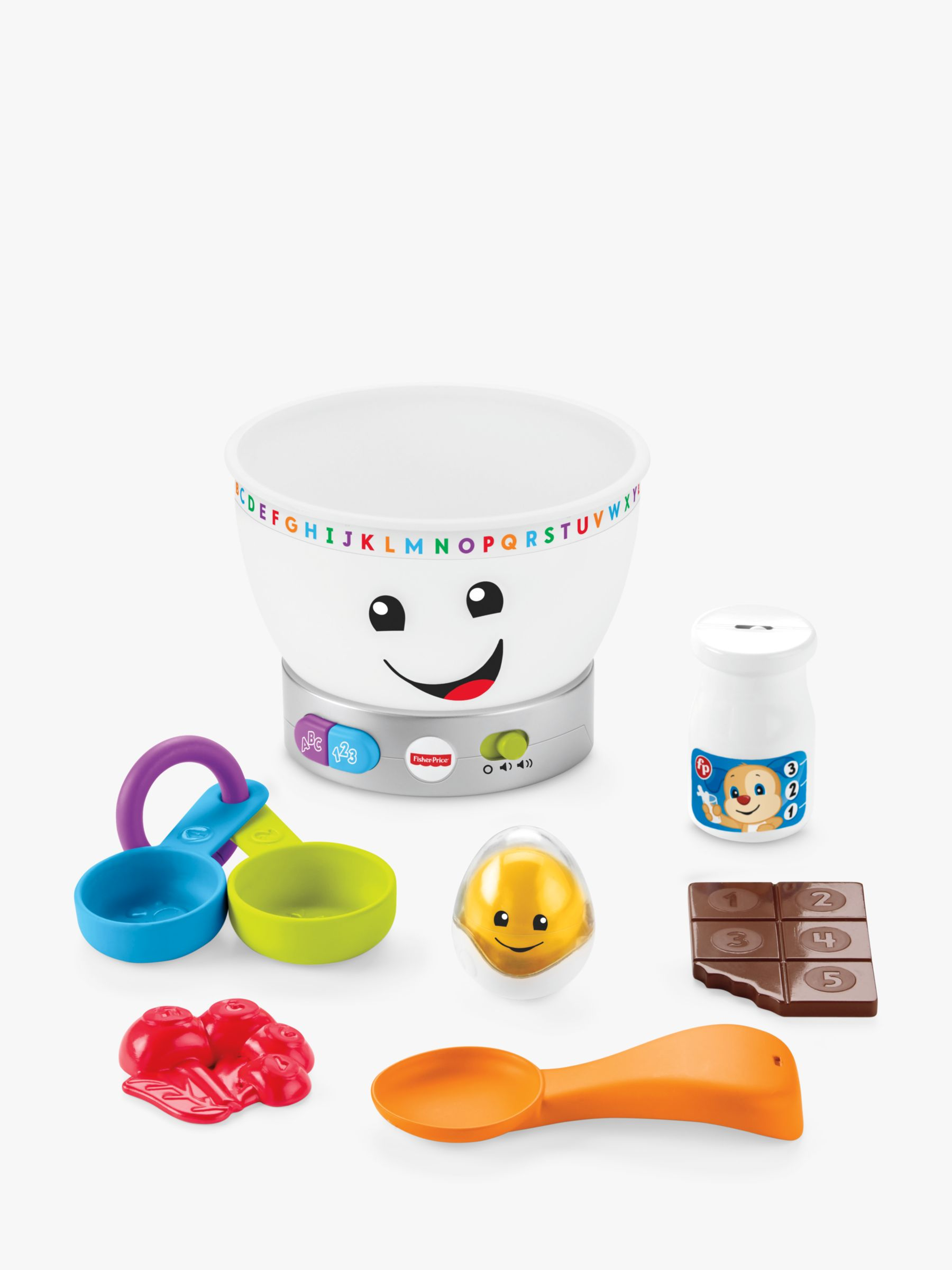 Fisher-Price Fisher-Price Laugh & Learn Magic Colour Mixing Bowl