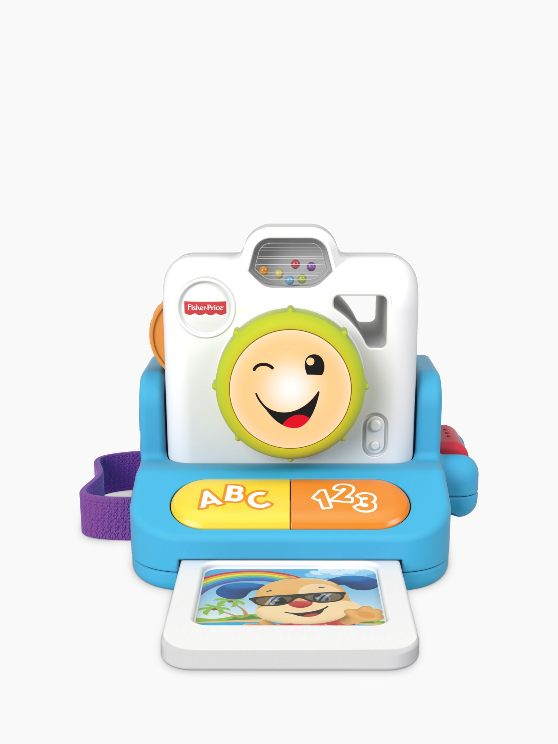 Fisher-Price Fisher-Price Laugh & Learn Click & Learn Instant Toy Camera