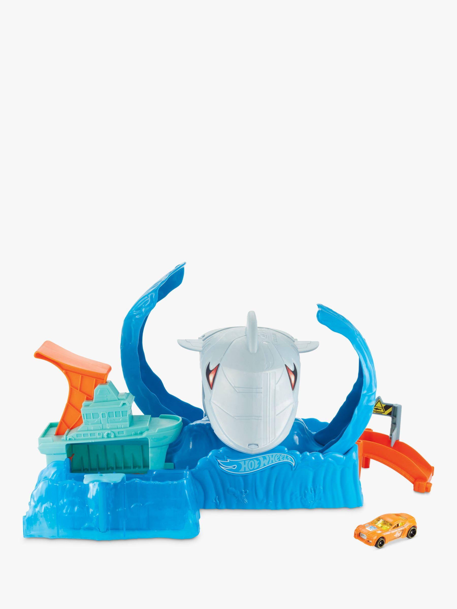 Hot Wheels Hot Wheels City Robo Shark Frenzy