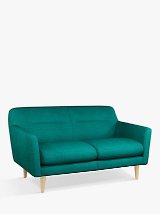 House by John Lewis Archie II Medium 2 Seater Sofa, Light Leg