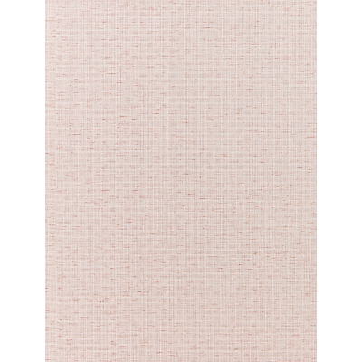 Image of John Lewis & Partners Basket Weave Vinyl Wallpaper, Pink