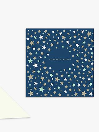 Laura Darrington Design Stars Congratulations Card