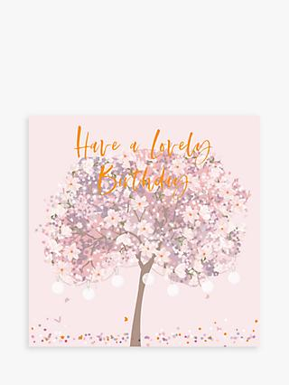Belly Button Designs Tree Lovely Birthday Card