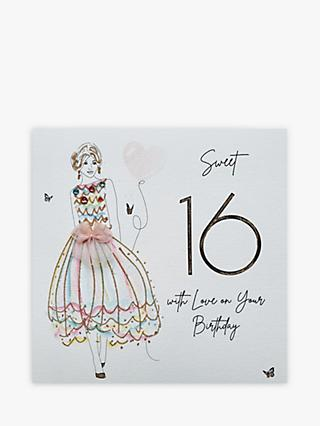 Five Dollar Shake With Love Sweet 16th Birthday Card