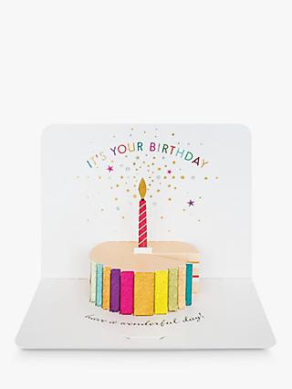 Art File Cake It's Your Birthday Card