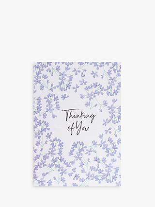 Belly Button Designs Floral Thinking of You Sympathy Card