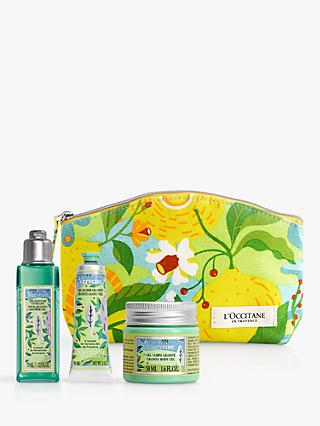 L'Occitane Invigorating Verbena Collection Bodycare Gift Set