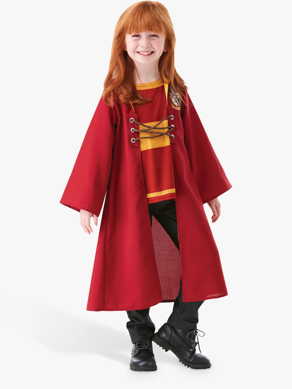 Harry Potter Quidditch Robe Children S Costume 5 6 Years At John Lewis Partners