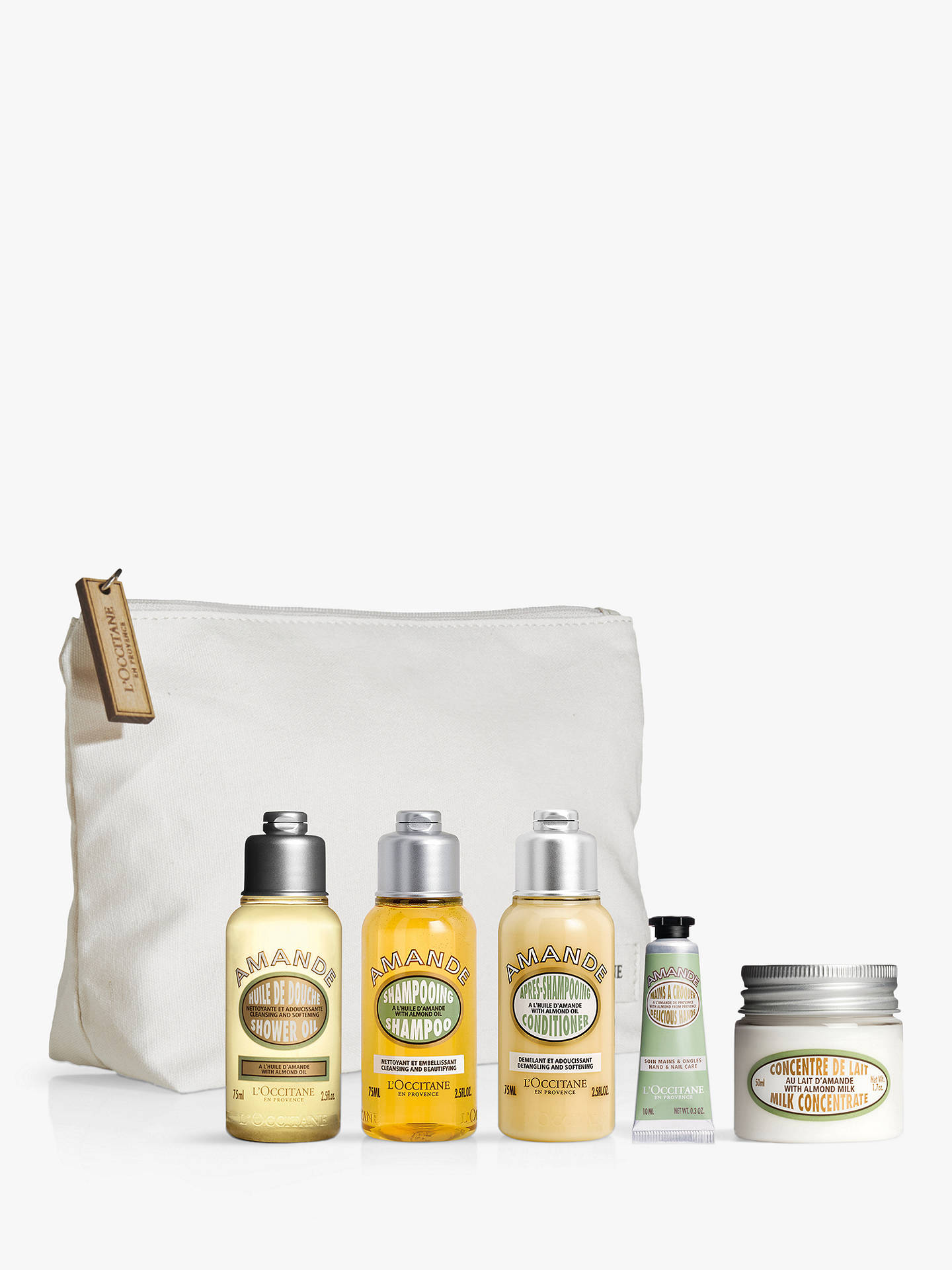 Buy L'Occitane Almond Discovery Collection Bodycare Gift Set Online at johnlewis.com