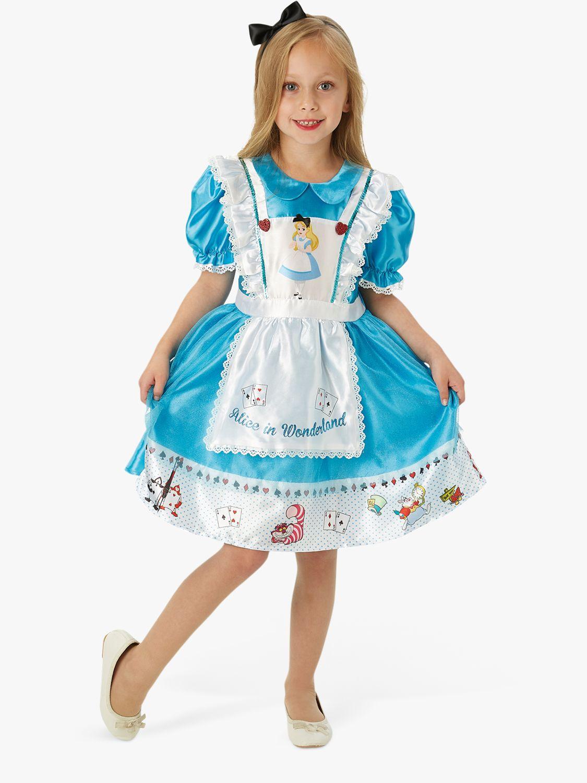 Rubies Disney Alice in Wonderland Deluxe Children's Costume, 5-6 years