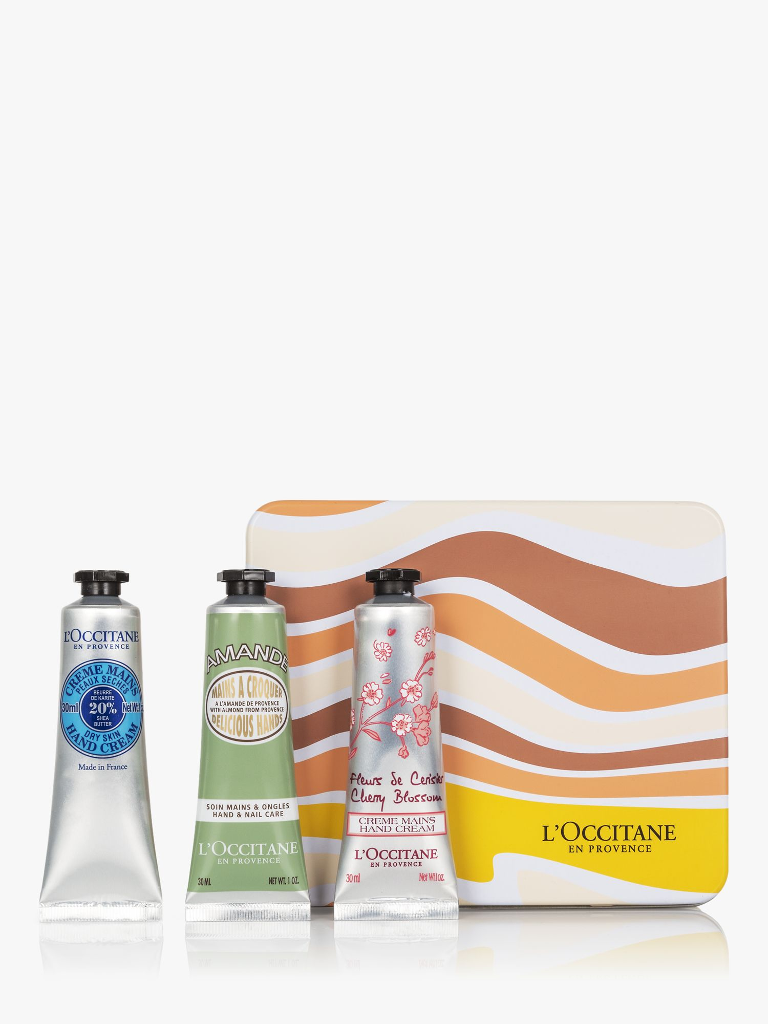 L'Occitane Petite Hand Cream Trio Gift Set at John Lewis