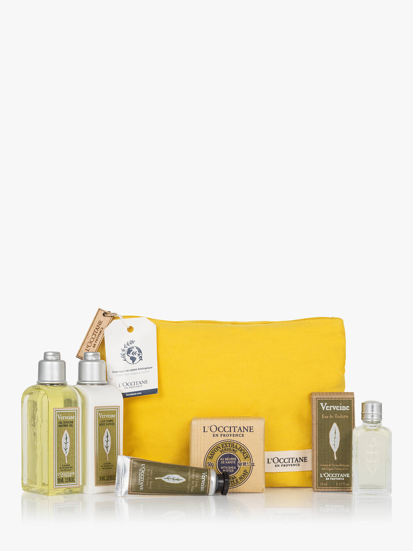 Buy L'Occitane Verbena Discovery Kit Bodycare Gift Set Online at johnlewis.com