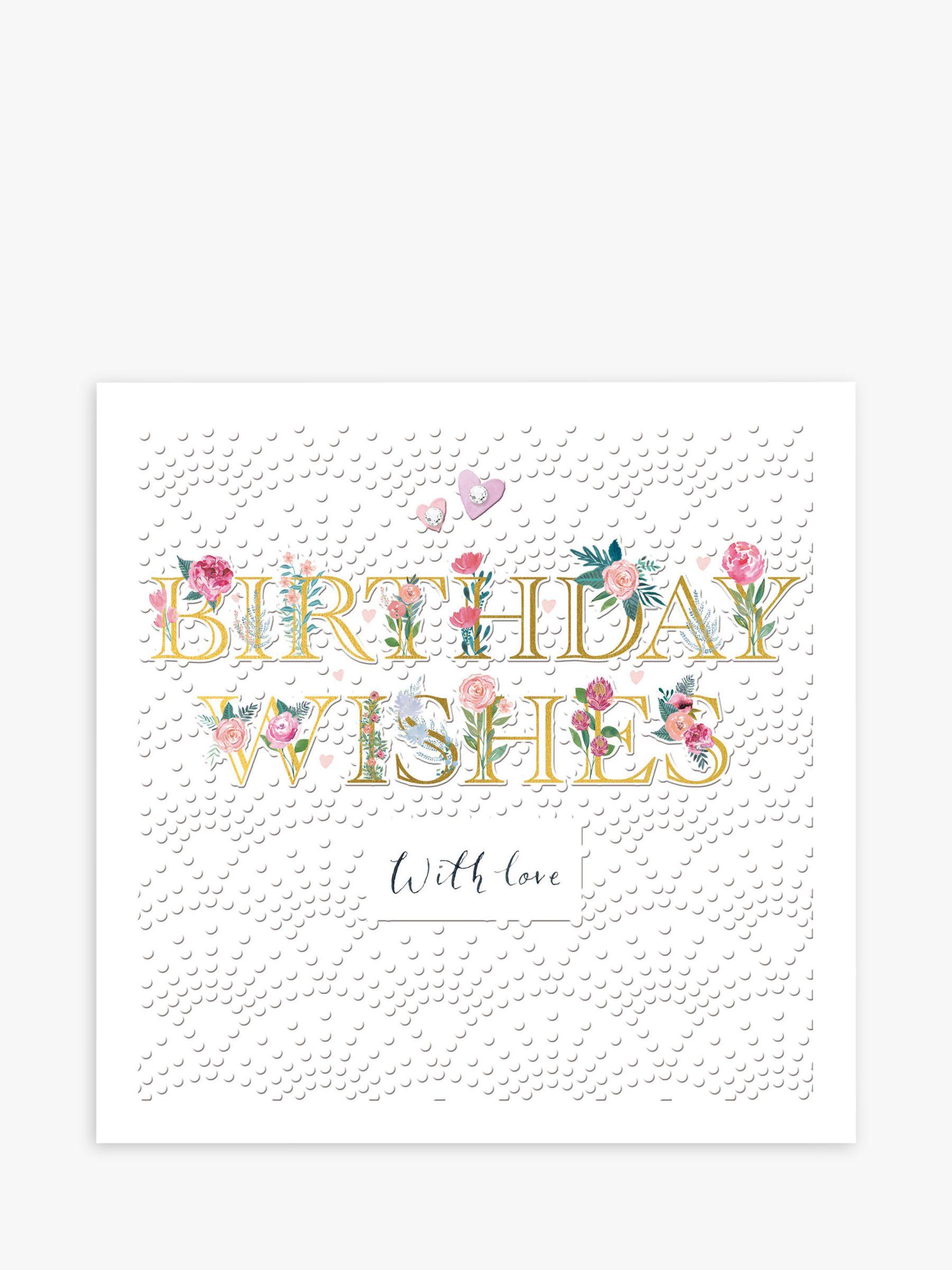 Woodmansterne Woodmansterne With Love Birthday Card