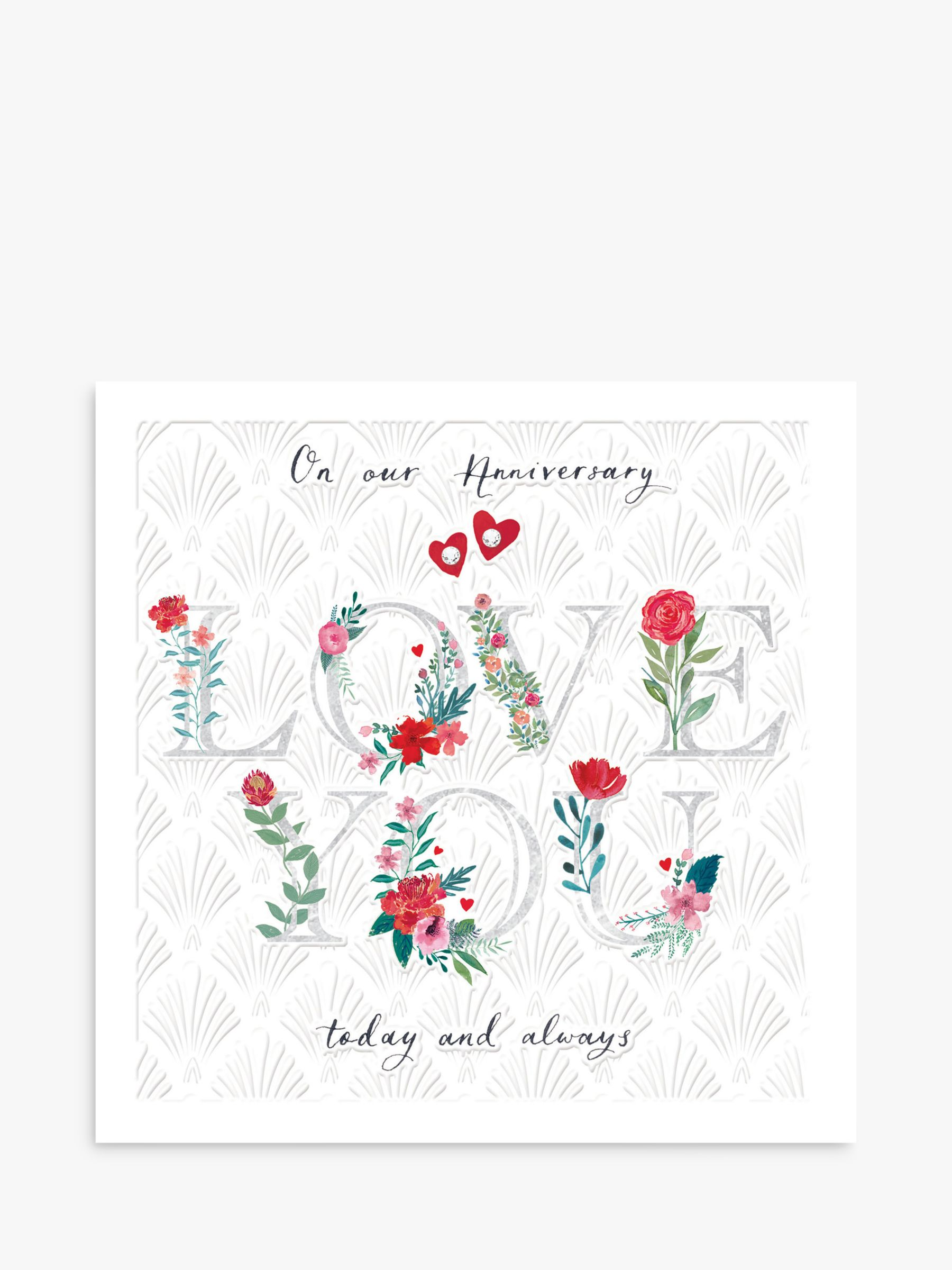 Woodmansterne Woodmansterne Today & Always Anniversary Card