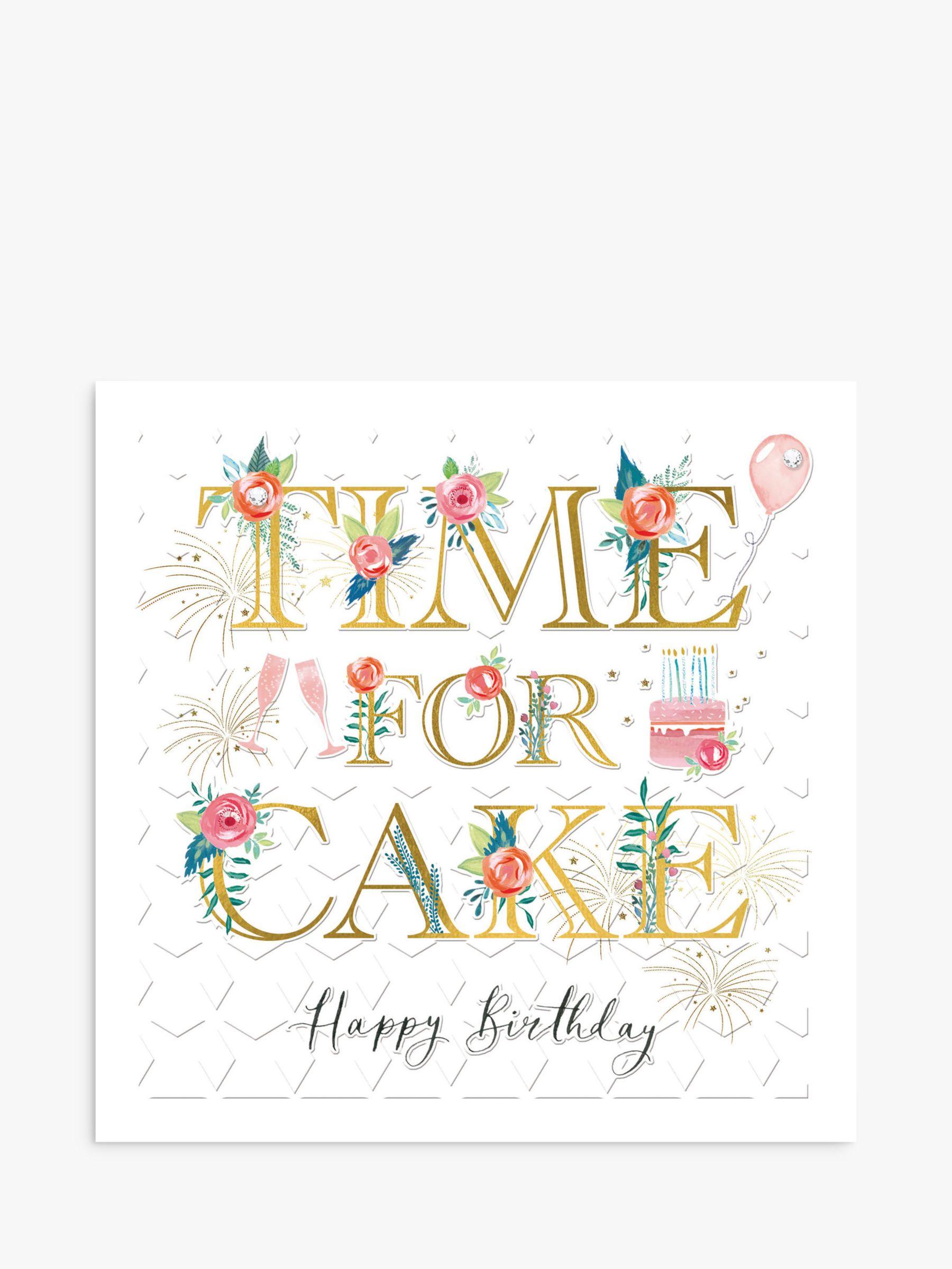 Woodmansterne Woodmansterne Time for Cake Birthday Card