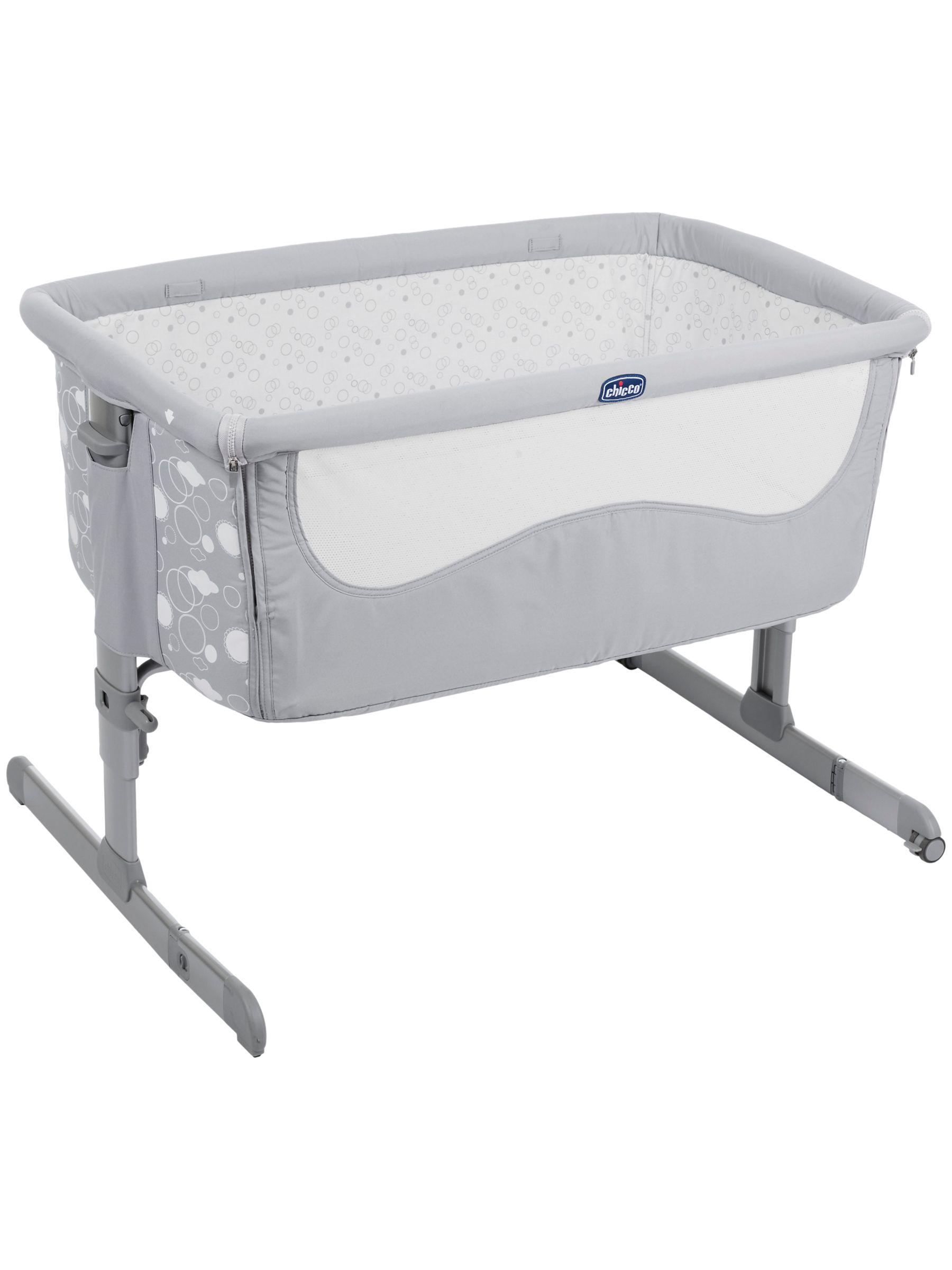 Chicco Chicco Next 2 Me Dream Bedside Crib, Grey Elegance