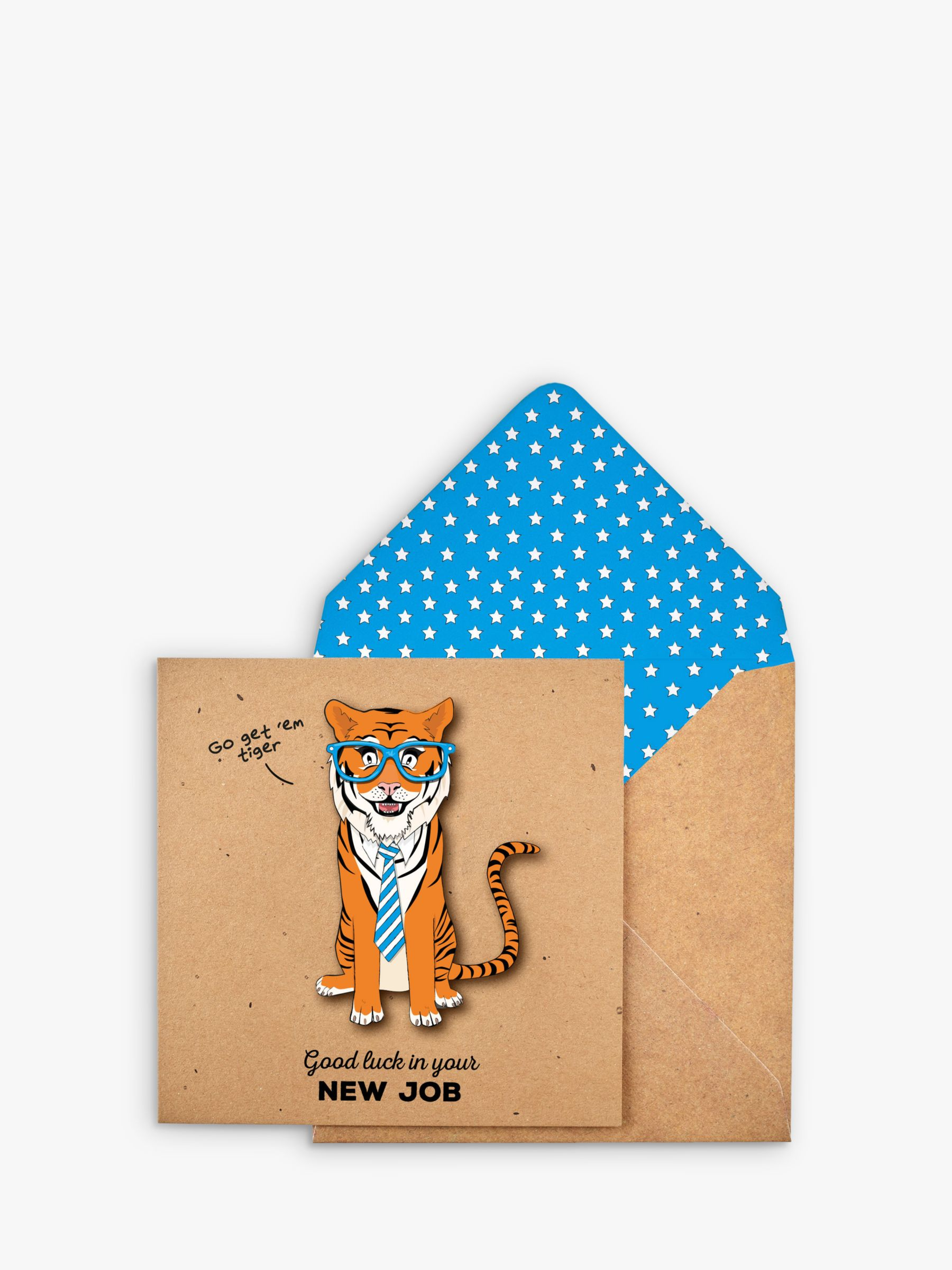 Tache Crafts Tache Crafts 3D Tiger New Job Card