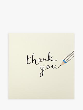 Ruth Jackson Pencil Thank You Card
