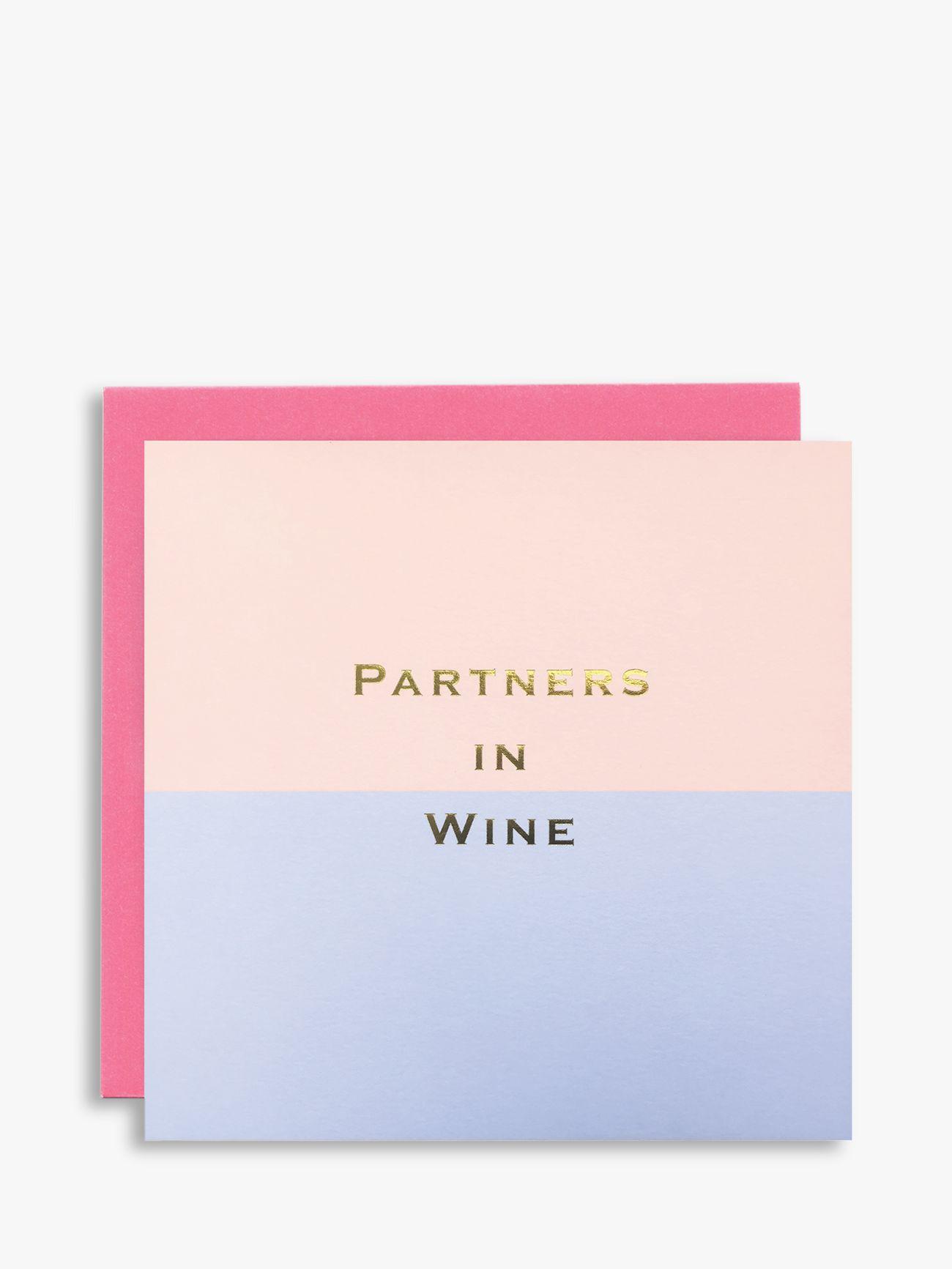 Susan O'Hanlon Susan O'Hanlon Partners In Wine Birthday Card