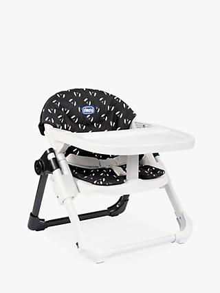 Chicco Chairy Dog Print Booster Seat, Black