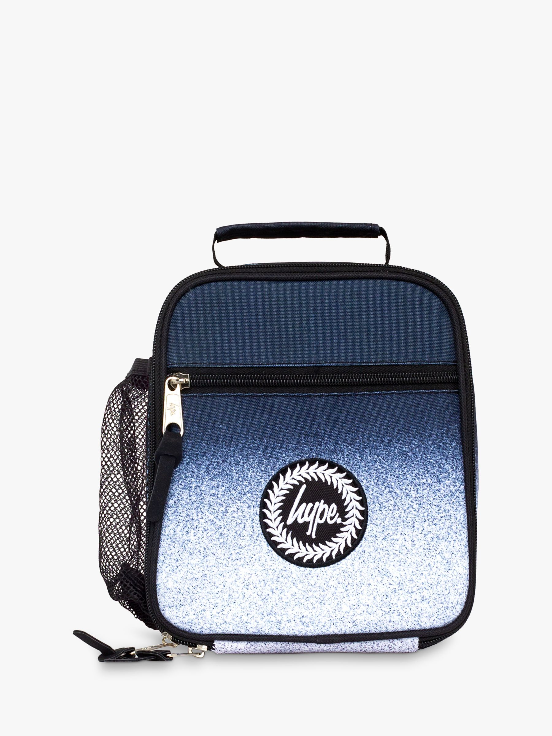 Hype Hype Children's Speckle Fade Lunchbox, Black