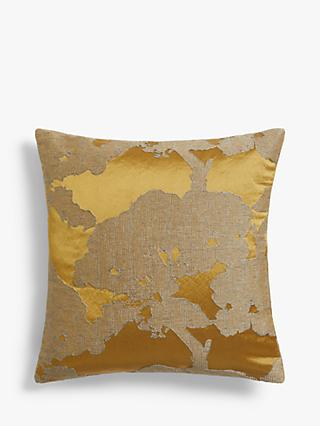 John Lewis & Partners Komaka Cushion, Gold