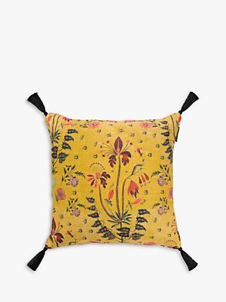 MINDTHEGAP Gypsy Cushion, Ochre