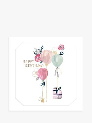 The Proper Mail Company Balloons Birthday Card