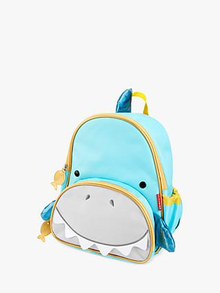 Skip Hop Zoo Shark Children's Backpack, Silver