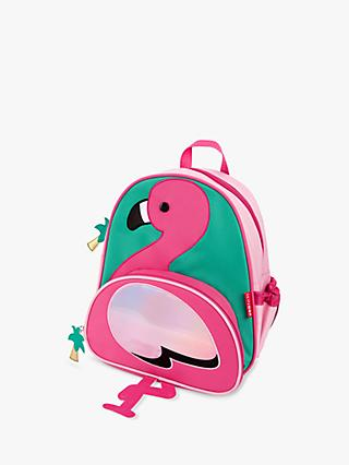 Skip Hop Zoo Flamingo Children's Backpack, Pink